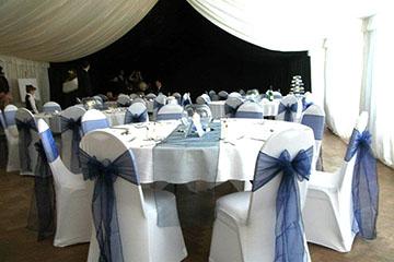 Wedding Blue Thornton Hough Village Hall